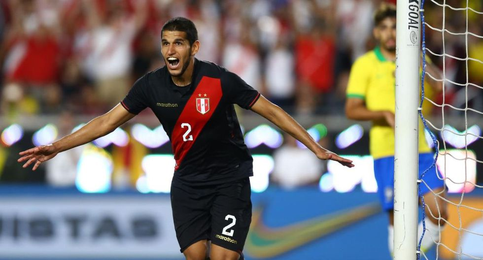Perú le ganó 1-0 a Brasil con tanto agónico de Luis Abram (Foto: Fernando Sangama / GEC)