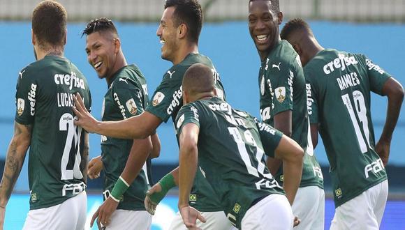 Palmeiras va por su segunda Copa Libertadores en su historia. (Foto: AFP)