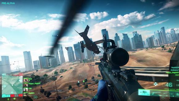Battlefield 2042: EA revela que trabaja en servidores totalmente personalizables. (Foto: EA).