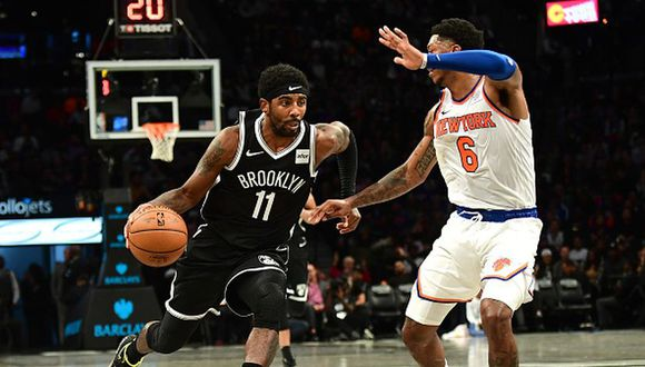 Kyrie Irving fue decisivo en la victoria de los Brooklyn Nets. (Foto: Getty Images)