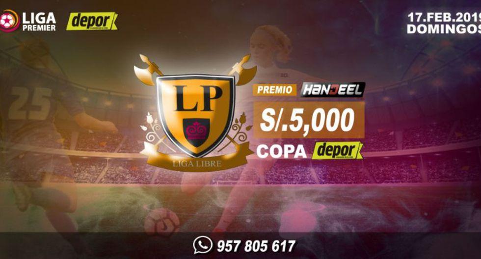 """La Liga Premier categoría Libre """"Copa Depor"""" arranca el 17 de febrero."""