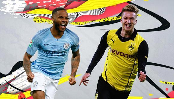 FIFA 20: Sterling y Reus lideran el segundo equipo de los 'Headliners'. (Foto: EA Sports)