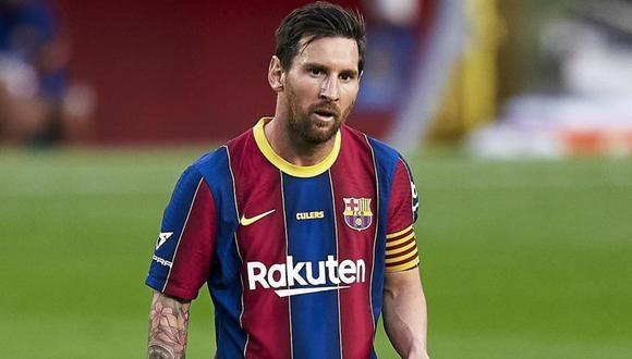 Lionel Messi tiene contrato con el Barcelona hasta el 30 de junio de este año. (AFP)