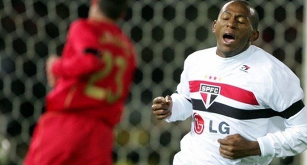 Mineiro - Sao Paulo 1-0 Liveprool 2005. (Getty)