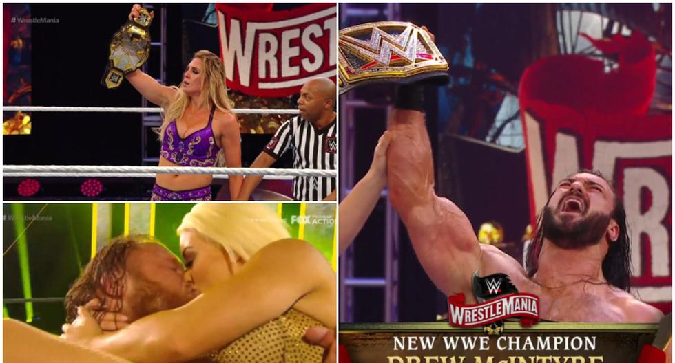 WrestleMania 36: conoce todos los ganadores del  megaevento de WWE. (WWE)
