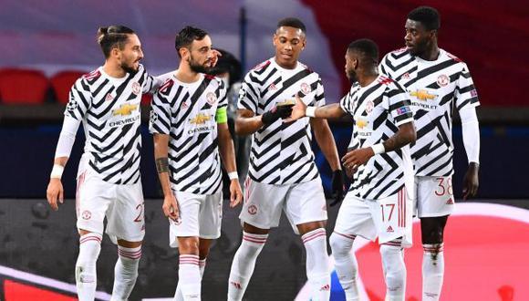 PSG cayó en casa ante Manchester United en la fecha 1 de Champions League 2020