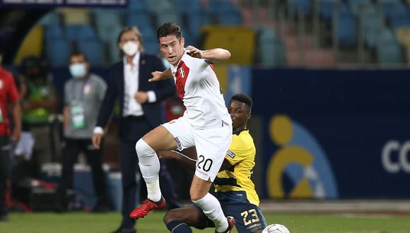 Santiago Ormeño ya registra dos partidos con la Selección Peruana (Foto:GEC/Jesús Saucedo)