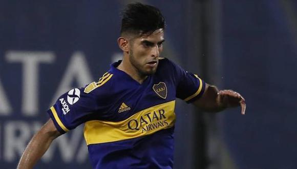 Zambrano reapareció con gol tras su expulsión en el superclásico ante River. (Foto: Boca Juniors)
