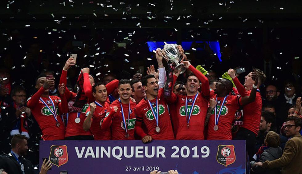 PSG se quedó sin título y Rennes dio el batacazo en penales por Copa de Francia