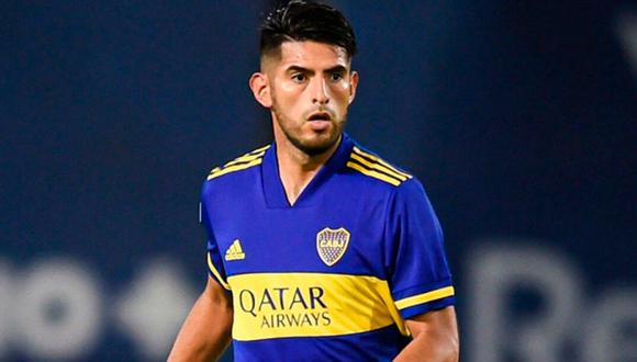 Carlos Zambrano reapareció en un partido de Boca Juniors tras 45 días. (Foto: Boca Juniors)
