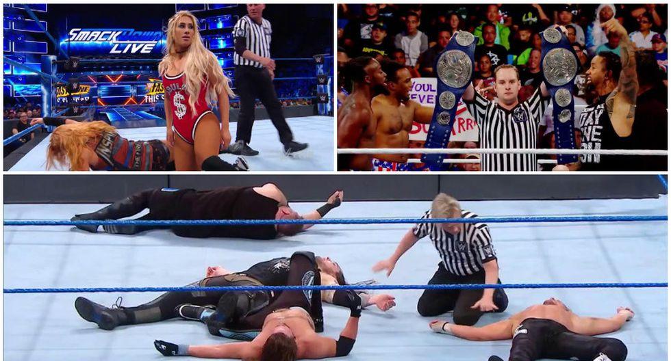 Revive todos los combates del SmackDown Live previo a Fastlane 2018. (WWE)