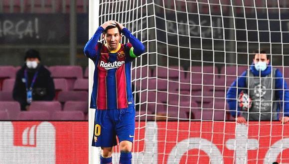 Un precandidato a la presidencia de Barcelona habló de la continuidad de Lionel Messi. (Foto: AFP)