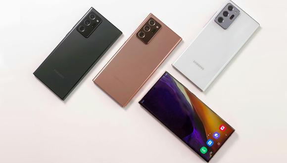 Samsung lanza dos nuevos dispositivos de gama alta: se trata del Galaxy Note 20 y Note 20 Ultra. (Foto: Samsung)