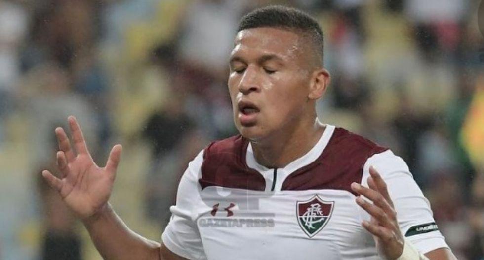 Fernando Pacheco lleva un gol oficial con camiseta de Fluminense. (Foto: Globoesporte)