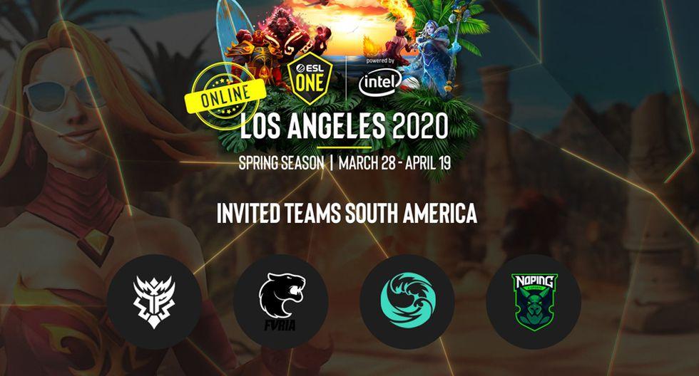 Dota 2: Beastcoast vs. Thunder Predator, fecha y hora del inicio de la Major ESL One Los Ángeles 2020. (Foto: ESL)