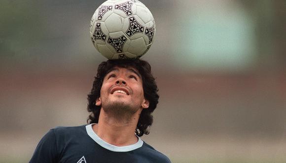 Maradona falleció este miércoles a los 60 años. (Foto: AFP)