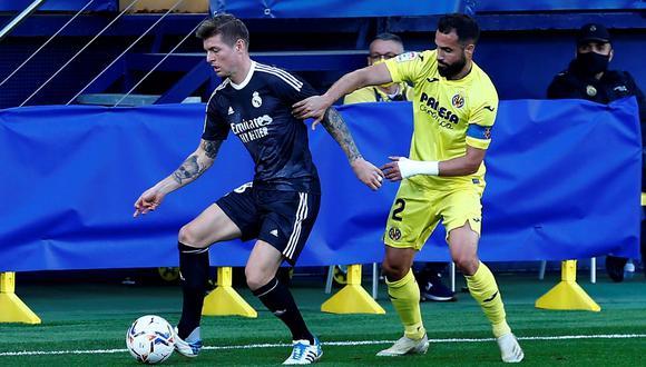 Real Madrid y Villarreal empataron 1-1 por la fecha 10 de LaLiga Santander 2020. (EFE)