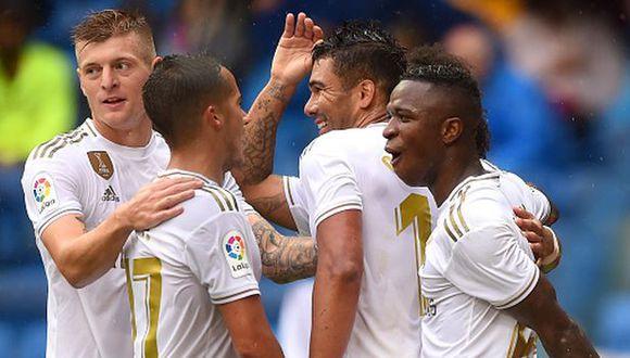 Real Madrid vs Levante hoy: narración de canales y horarios ESPN por Liga Santander 2019. (Getty)