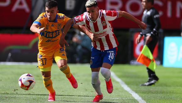 Chivas vs. Tigres se vieron las caras este sábado por la jornada 17 de la Liga MX 2021 (Foto: @Chivas)