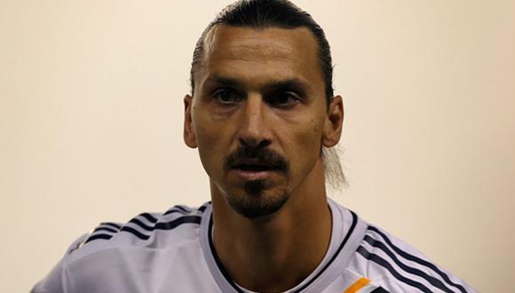 Zlatan Ibrahimovic lleva 22 goles con LA Galaxy en 26 partidos. (Getty)