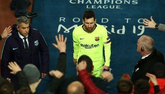 Lionel Messi y Barcelona quedaron fuera de Champions League en semifinales. (Getty)