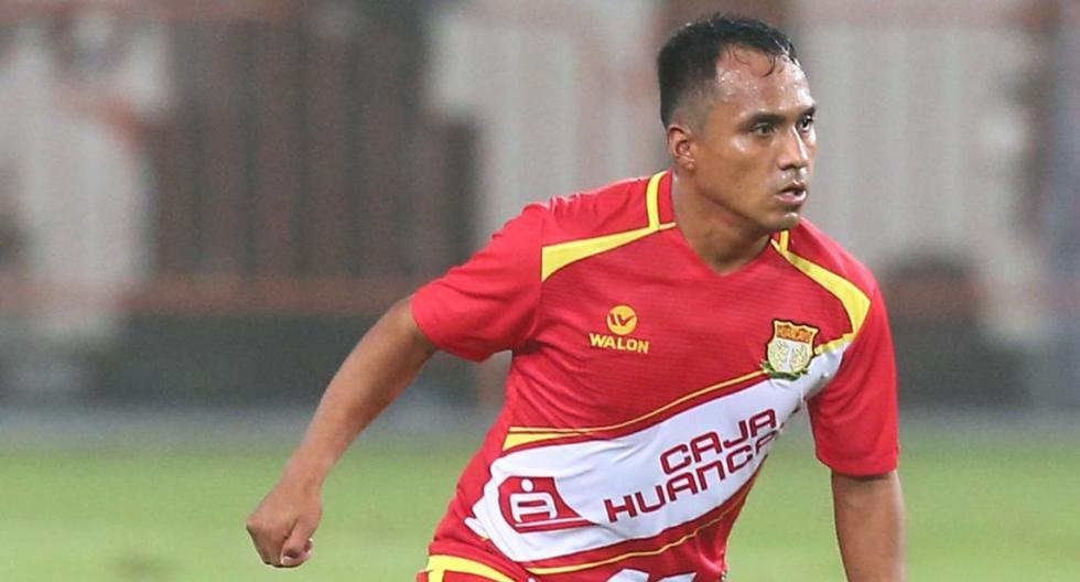 Marcos Lliuya sumará otra temporada con Sport Huancayo. (Foto: GEC)