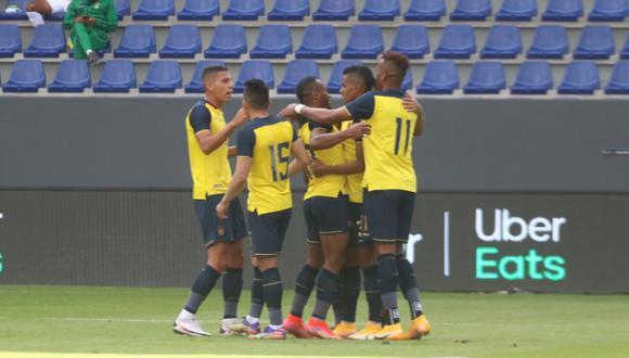 Ecuador venció 2-1 a Bolivia por amistoso internacional. (Foto: Twitter Selección de Ecuador)