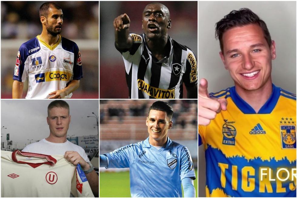 Los jugadores europeos que pasearon su fútbol por América. (Getty)
