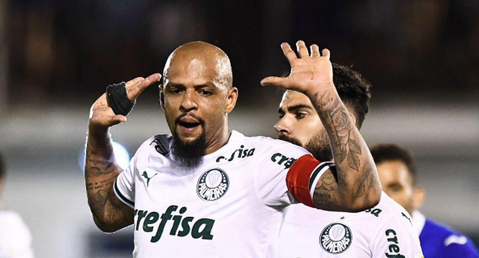 Felipe Melo es una de las tantas estrellas que militan en el Palmeiras brasileño esta temporada. (Foto: Getty Images)