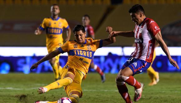 Tigres se dio un paseo: goleó a San Luis por Apertura 2020 Liga MX