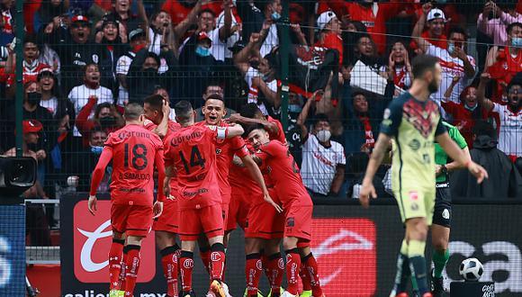 América vs. Toluca jugaron por la jornada 9 de la Liga MX 2021 este sábado (Foto: Getty Images).