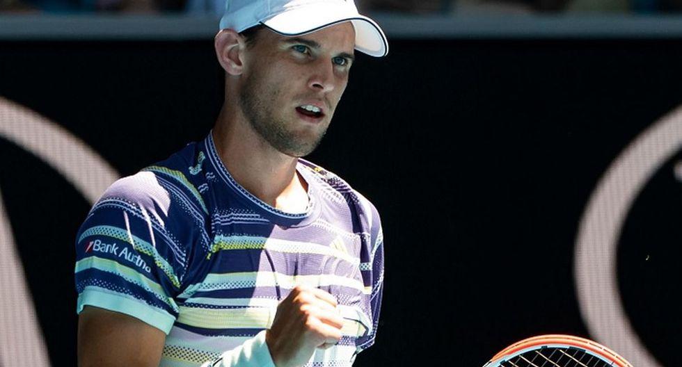 Thiem es el actual 4 del ranking ATP. (Foto: Twitter)