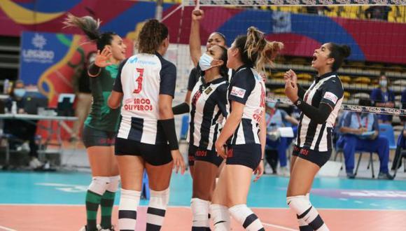 Alianza Lima derrotó 3-0 a Rebaza Acosta en su estreno en la fase 2 de la LNSV. (FPV)
