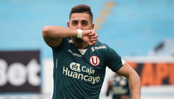 Luis Urruti viene de marcar dos goles en los últimos partidos con Universitario. (Foto: Universitario de Deportes)