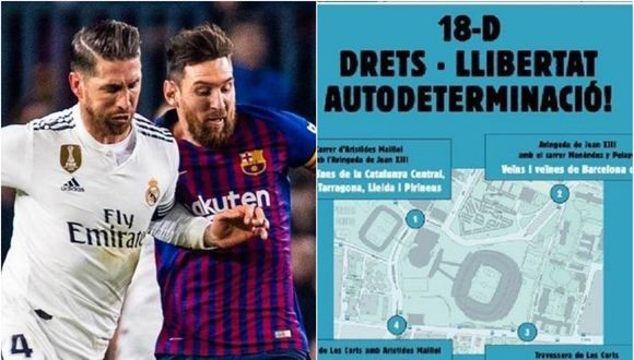 El Barcelona vs Real Madrid está programado para el 18 de diciembre en el Camp Nou.