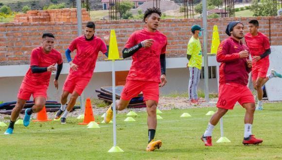 Ayacucho FC y su posible alineación para el arranque de la Liga 1. (Foto: Ayacucho FC Facebook)