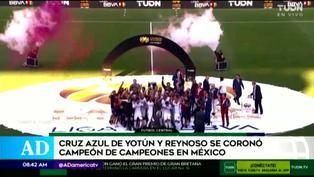 Juan Reynoso y Yoshimar Yotún se coronan con el Campeón de Campeones en México