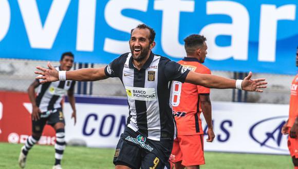 Hernán Barcos ha marcado un gol con Alianza Lima en la temporada 2021. (Foto: Alianza Lima)