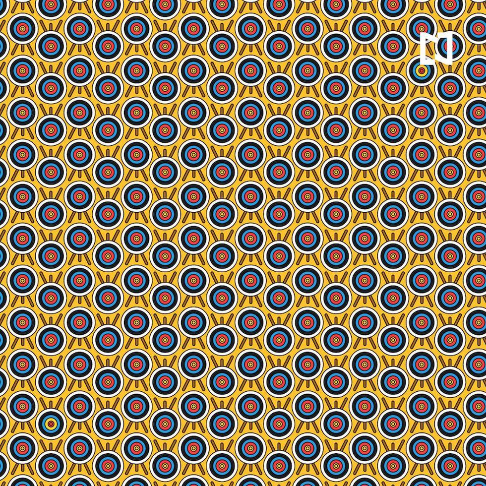 Ubica en este desafío visual las dianas con el centro rojo diferentes a las demás. (Fotos: Noticieros Televisa)