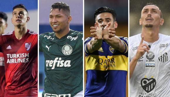 Esta semana se define a los finalistas de la Copa Libertadores. River Plate, Palmeiras, Boca y Santos van por la gloria.
