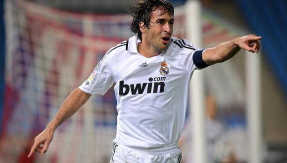 Raúl ganó tres Champions League con el Real Madrid. (Foto: Getty Images)