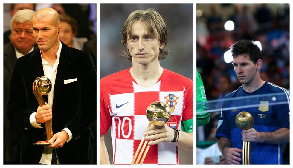 La maldición del Balón de Oro en los Mundiales.