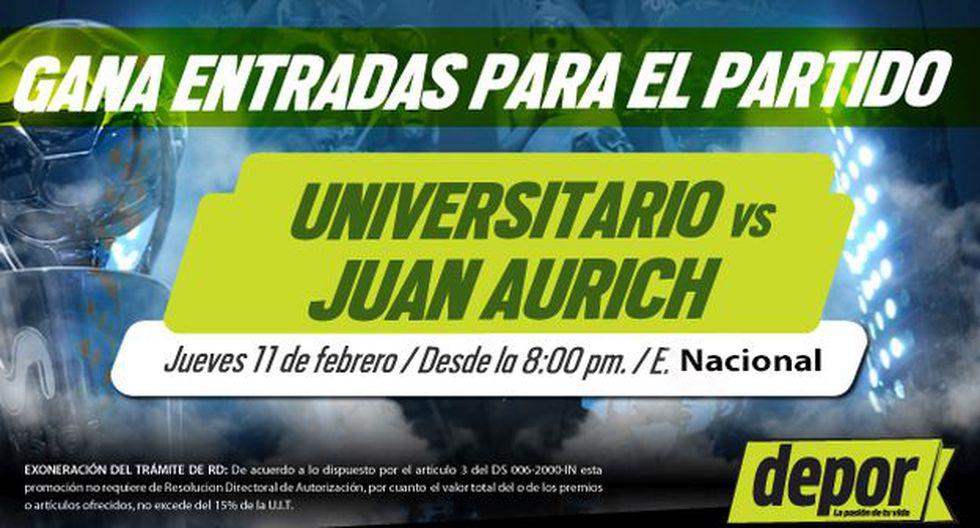 Universitario de Deportes vs. Juan Aurich: Depor te regala entradas dobles