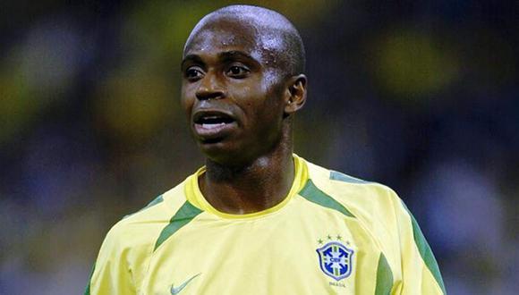 Delantero Edílson fue parte del Brasil campeón del mundo el 2002, donde no anotó goles.