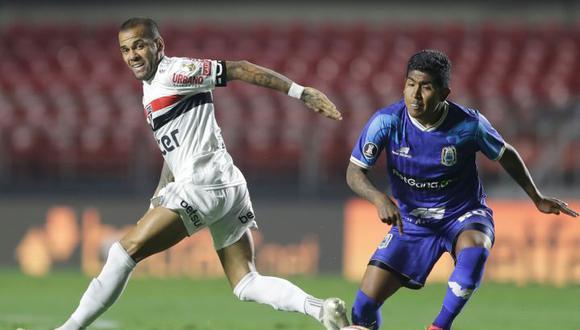 Binacional y Sao Paulo se enfrentaron por la Copa Libertadores en Brasil. (Agencias)
