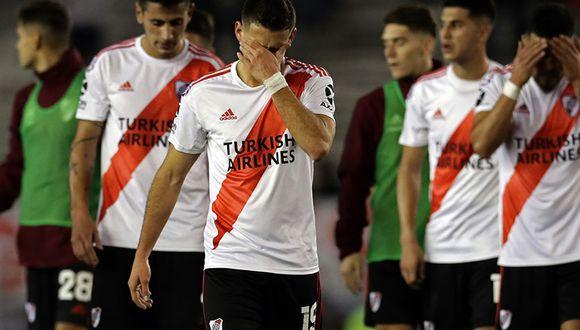 River Plate cayó por la mínima ante Talleres de Córdoba en el Monumental de Buenos Aires. (Foto: AFP)