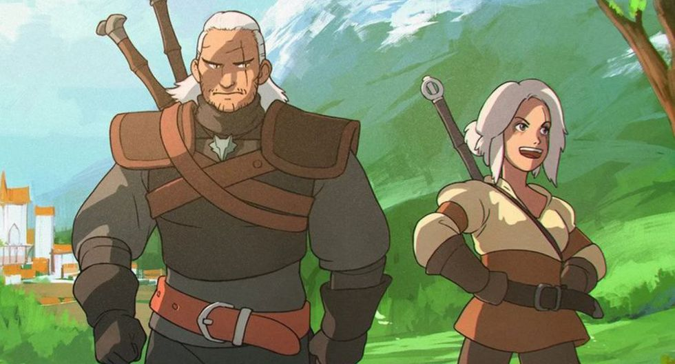 Netflix: 'The Witcher' tendrá una serie animada.