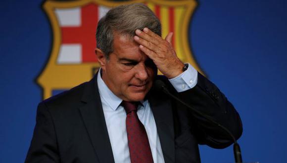 Joan Laporta aseguró que continuidad de Koeman depende de los resultados con el Barcelona. (Foto: EFE)