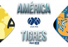 América vs. Tigres EN VIVO vía TUDN: transmisión y horarios del partido por la Liga MX