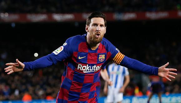 Lionel Messi tiene contrato con el Barcelona hasta 2021, (Getty)